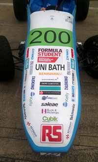 TeamBath Electric Sponsors