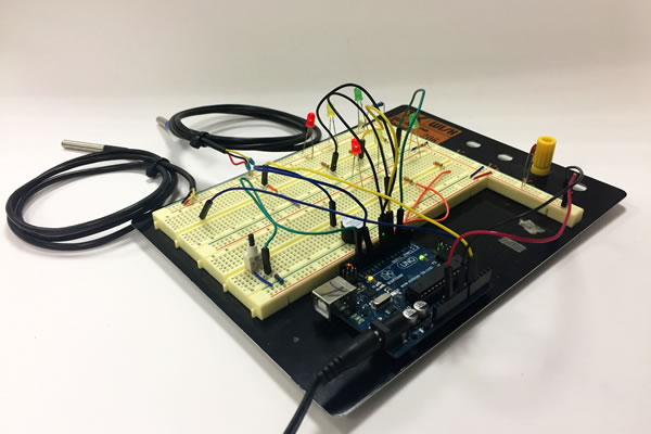 Arduino LEOCYCLE Breadboard 1