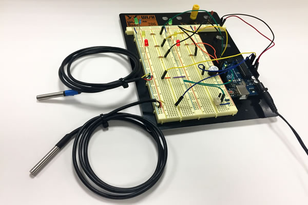 Arduino LEOCYCLE Breadboard 2
