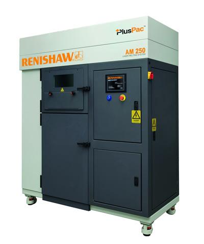 Renishaw AM250 3D Printer HiETA use