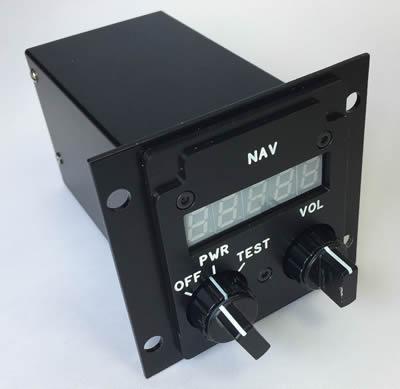 Cubik designed Standby VOR/ILS Control Unit