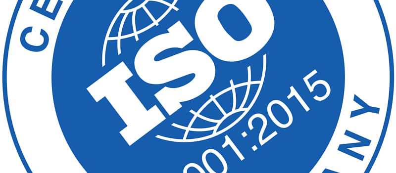 ISO 9001:2015 Accreditation Success!