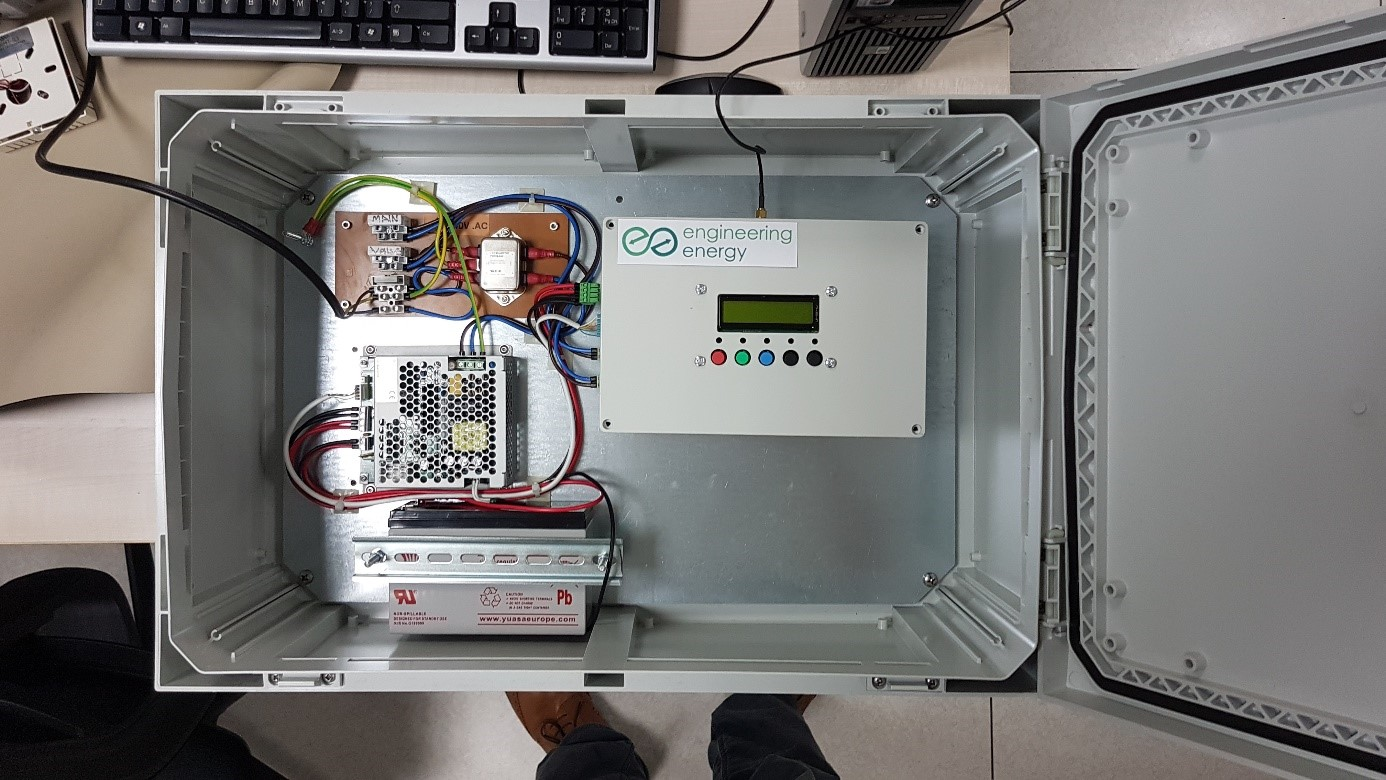 Critical plant monitoring system - prototype