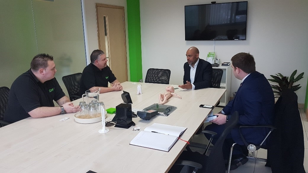 Mayor Marvin Rees Visits Cubik Innovation