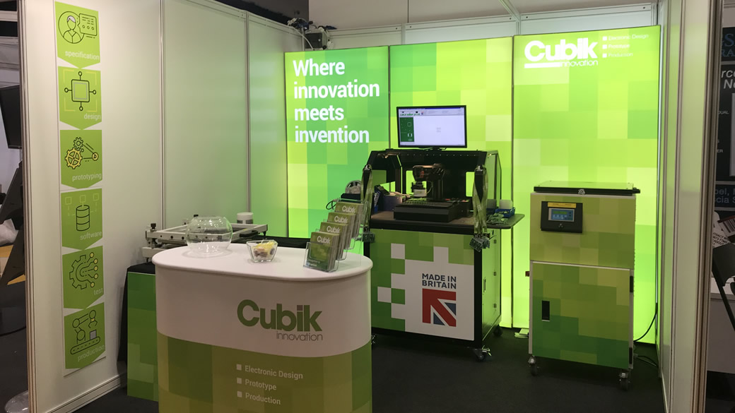 Cubik Innovation make their debut at the Engineering Design Show